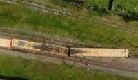 Vagão de trem descarrila após deixar a plataforma de Paripe