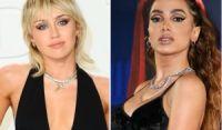 Miley Cyrus anuncia Anitta como convidada de novo projeto