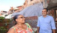 Geomantas oferecem segurança a moradores de áreas de risco em Pernambués