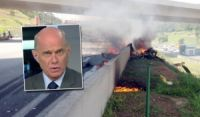 Vídeo mostra acidente com helicóptero que matou Ricardo Boechat e piloto