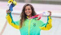 Rayssa Leal se torna a mais jovem medalhista olímpica do Brasil