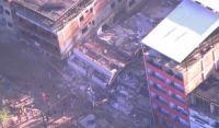 Duas pessoas morrem em desabamento de prédios na Muzema, comunidade na Zona Oeste do Rio