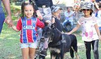 Operações com Cães do Choque promove I Cãorridinha Rústica