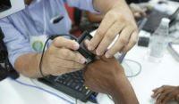 TRE convoca mais de 2,9 mi de eleitores para recadastramento biométrico