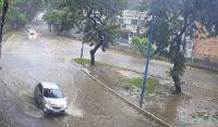 Mau tempo na capital permanece até sexta (9) com previsão de chuva forte