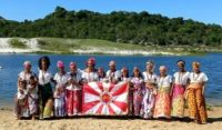 Ganhadeiras de Itapuã são homenageadas no desfile das escolas de samba do Rio de Janeiro